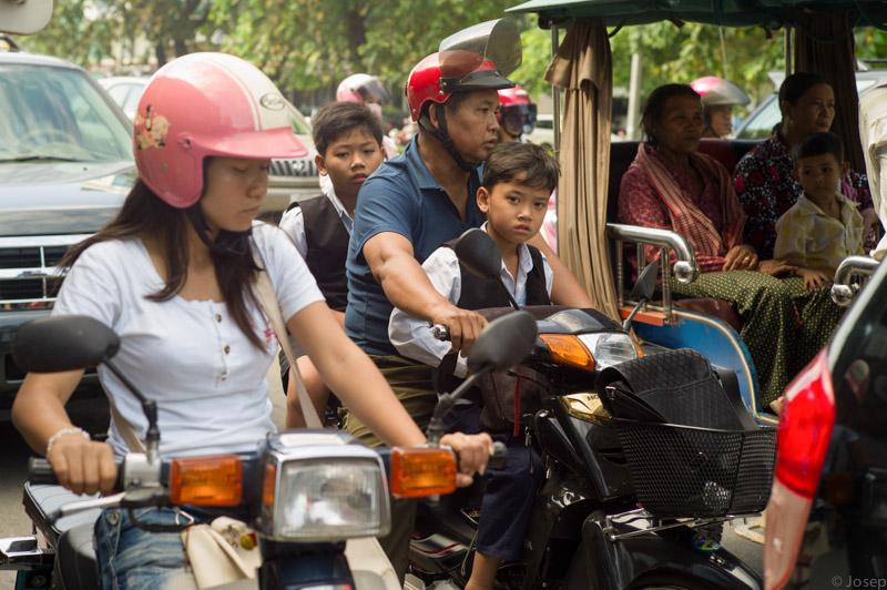 Cambodia, tràfic!