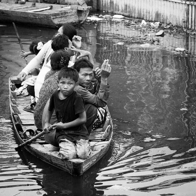 Cambodia. Taxi cap a casa...
