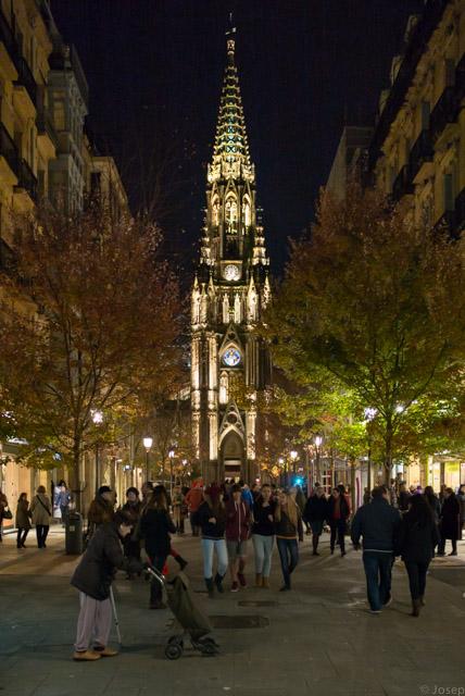 La catedral, il.luminada