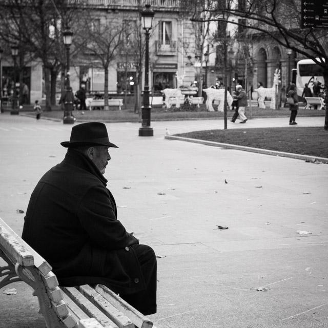 L'home sol.