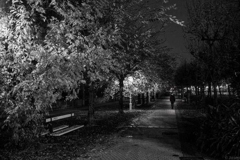 Passeig al vespre...