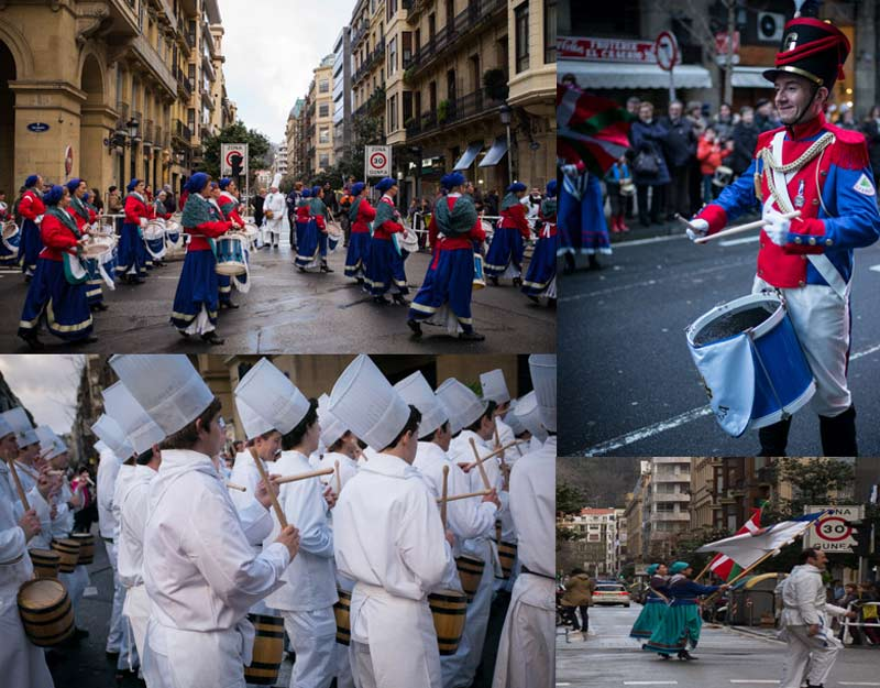 Desfiles a Donostia