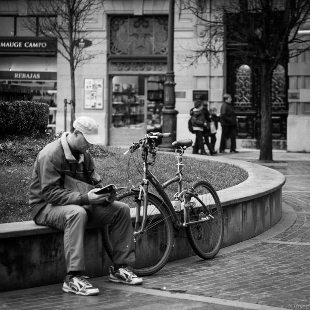 El turista i la bici