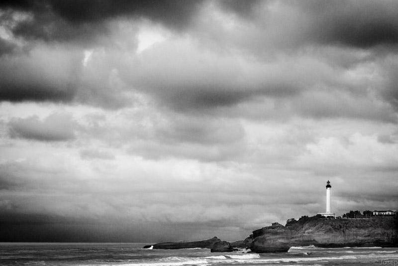 Biarritz, el far.