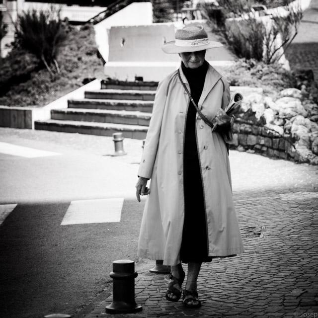 Una senyora de Biarritz...