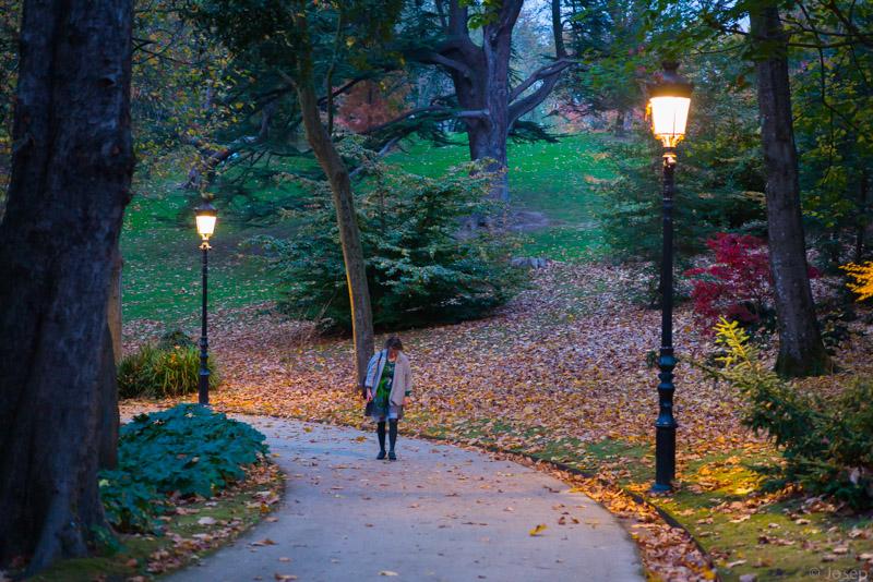 passeig pel park